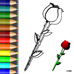 BW_Rose2