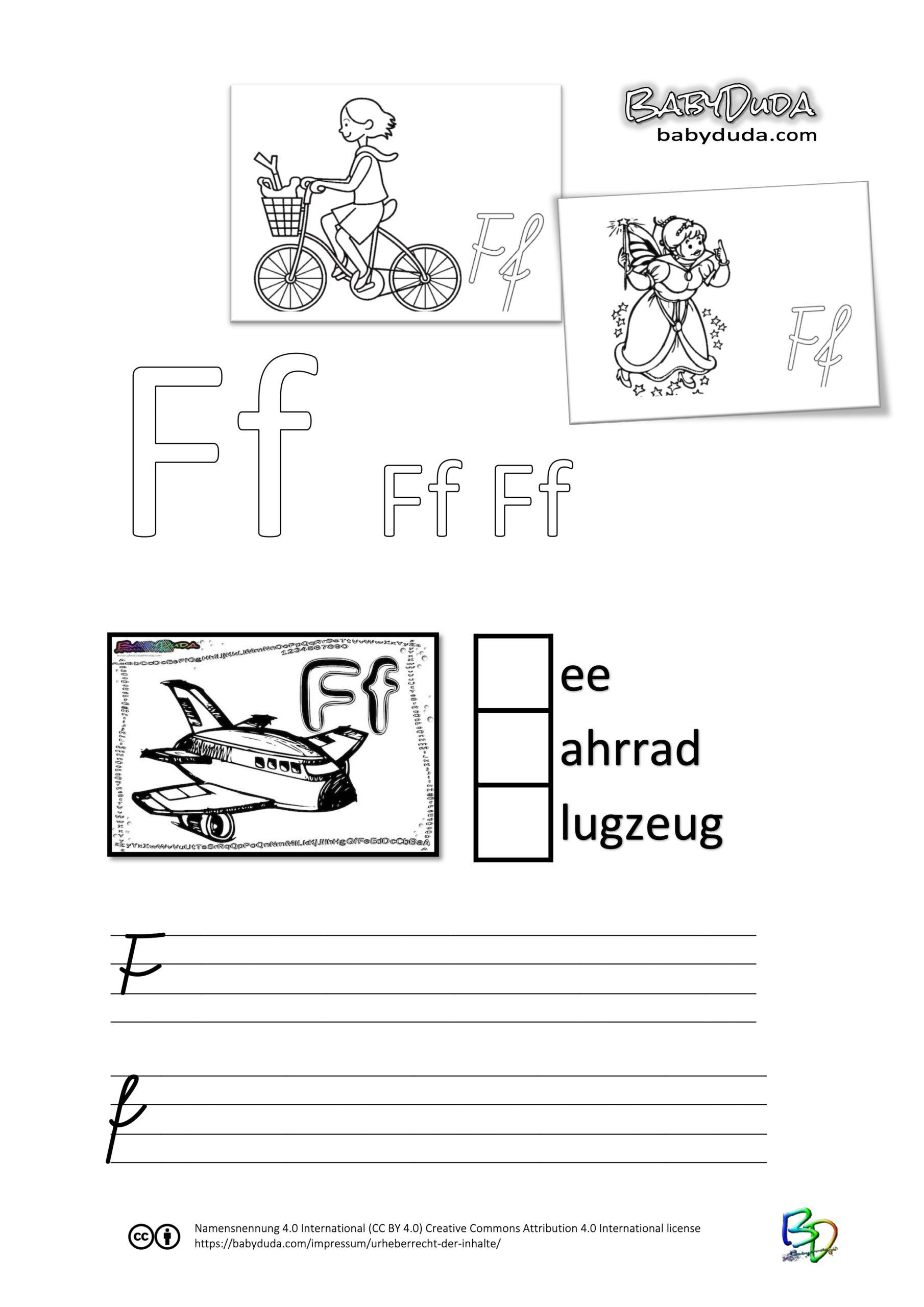 ABC-Ausmalbuch-Arbeitsblatt-F