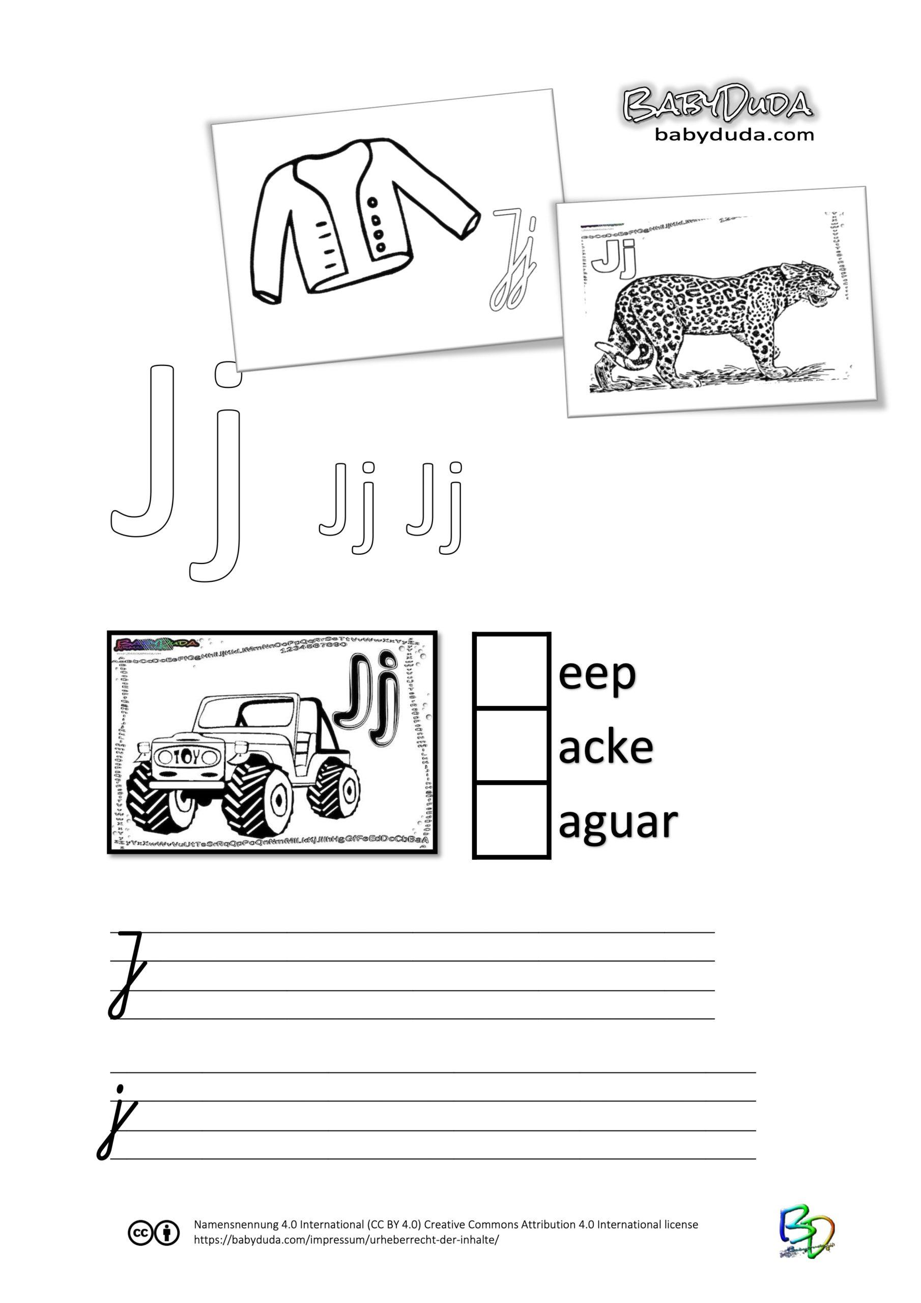 ABC-Ausmalbuch-Arbeitsblatt-J