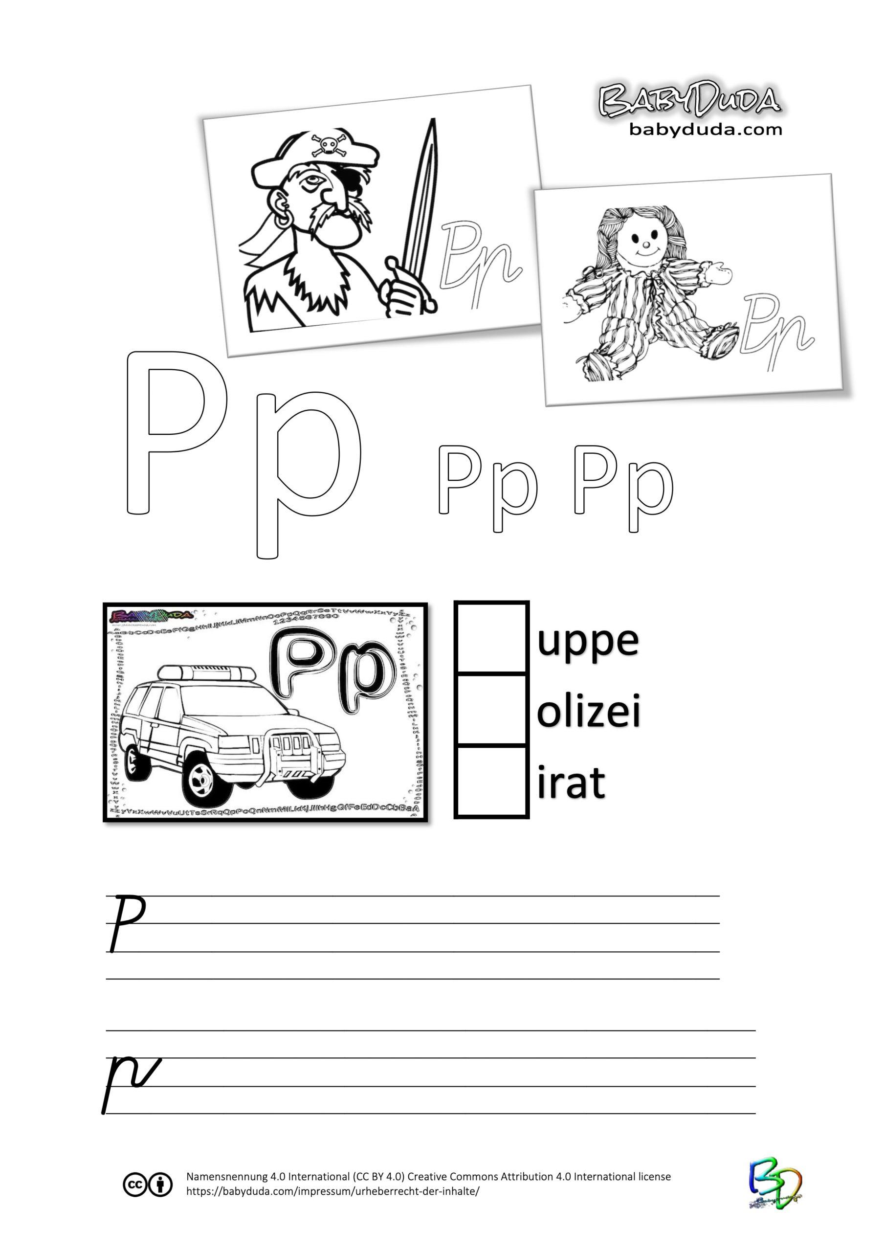 ABC-Ausmalbuch-Arbeitsblatt-P