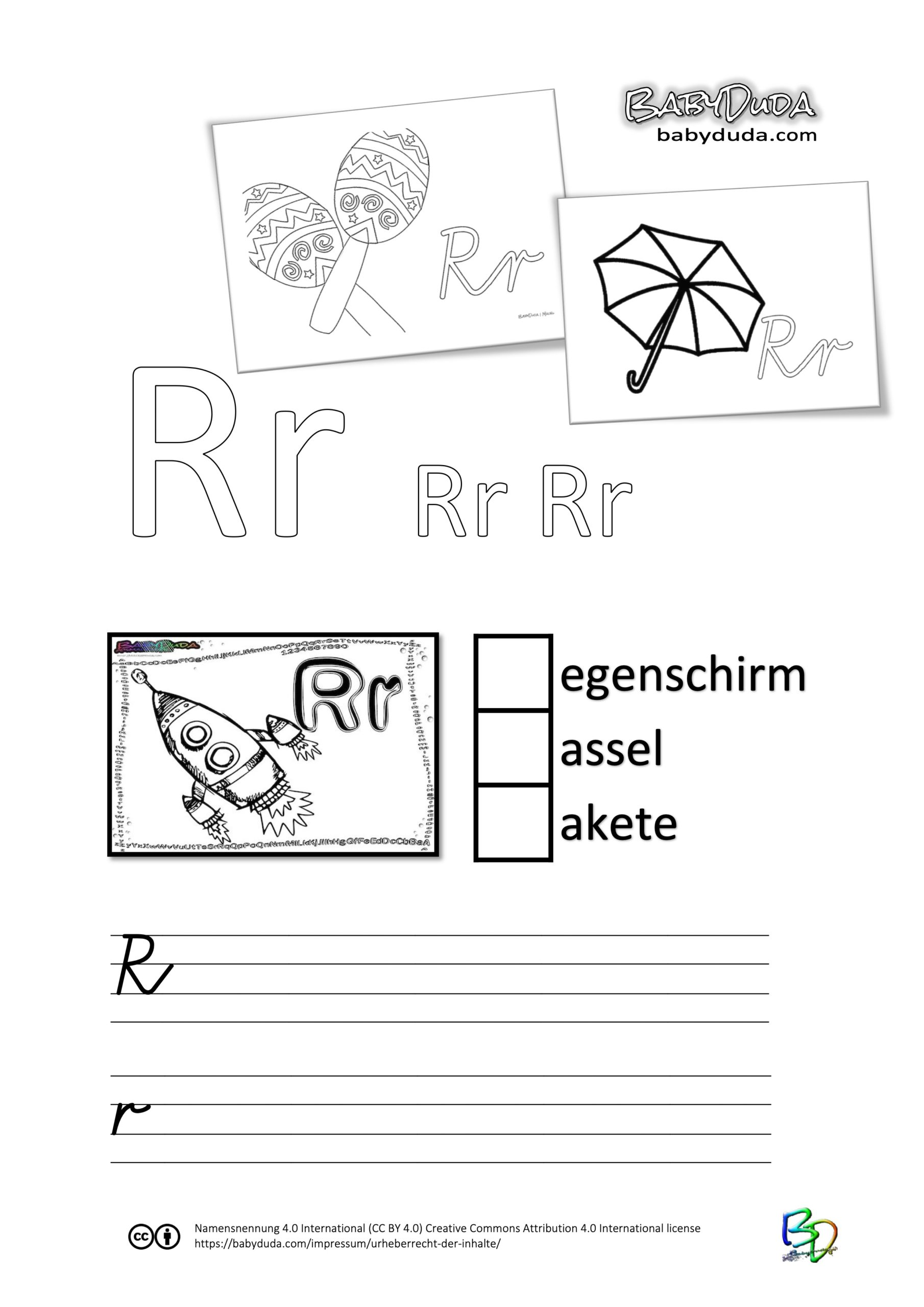 ABC-Ausmalbuch-Arbeitsblatt-R