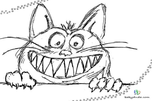 Ausmalbilder Katzen Kätzchen Katzenvorlagen Babyduda Malbuch