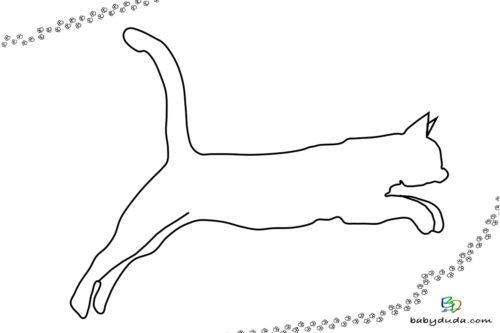 Ausmalbilder Katzen & Kätzchen - Katzenvorlagen | BabyDuda » Malbuch