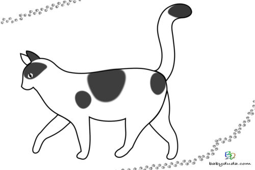 Ausmalbild - Malvorlage Tierbilder ausmalen