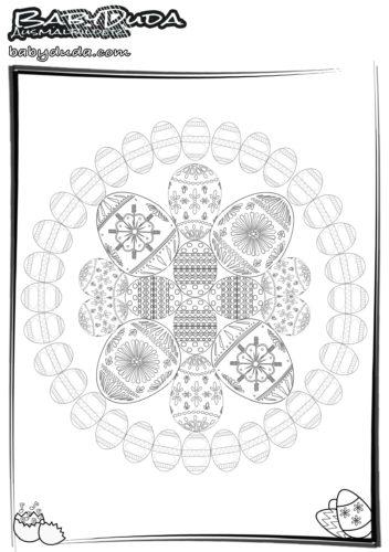 Oster-Mandala 4