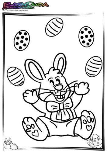 Ostern Ausmalbilder Osterhasen