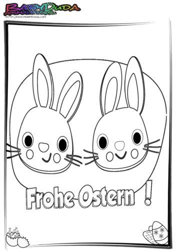 Ostern Ausmalbilder Frohe-Ostern