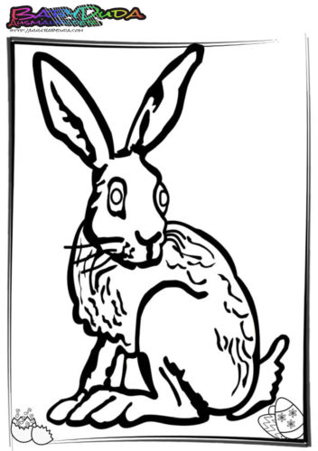 Ostern-Ausmalbilder-Hasen