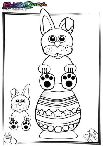 Ostern-Ausmalbilder-Osterhasen