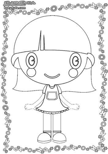 Ausmalbilder Kindertag - Malvorlage Kindermotiv | BabyDuda » Malbuch