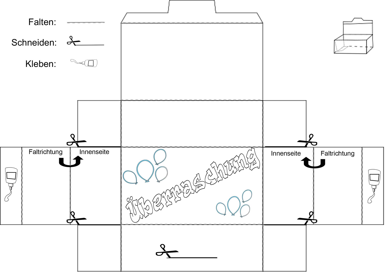 bastelanleitung schachtel vorlage ausdrucken babyduda bastelstra e. Black Bedroom Furniture Sets. Home Design Ideas