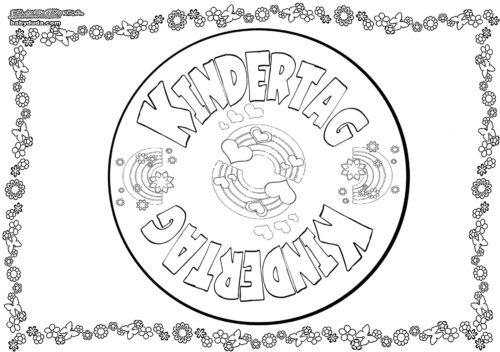 Mandalas Kindertag