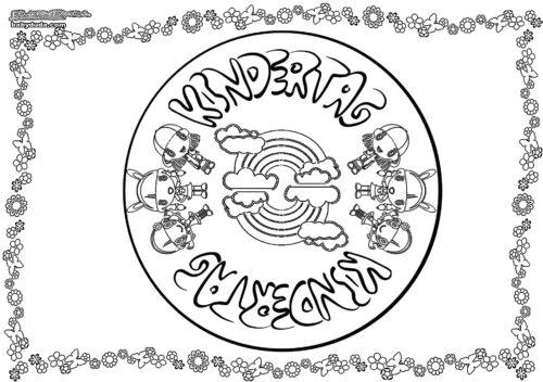Mandala Kindertag