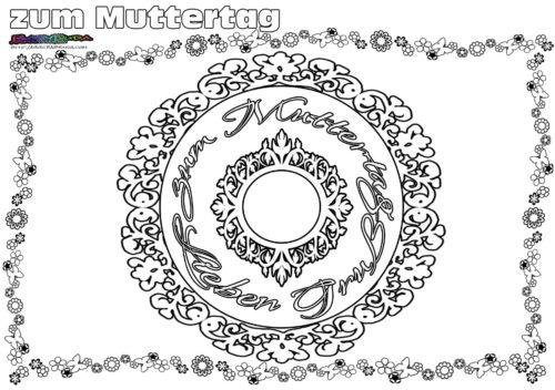 Muttertag Mandala