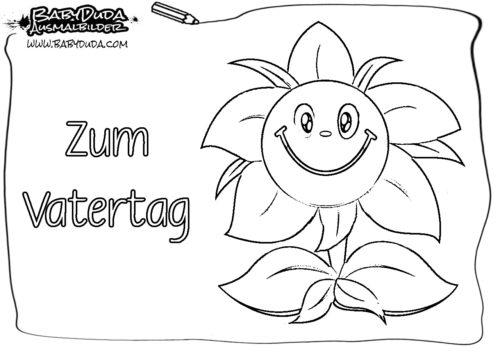 Malbild Blume