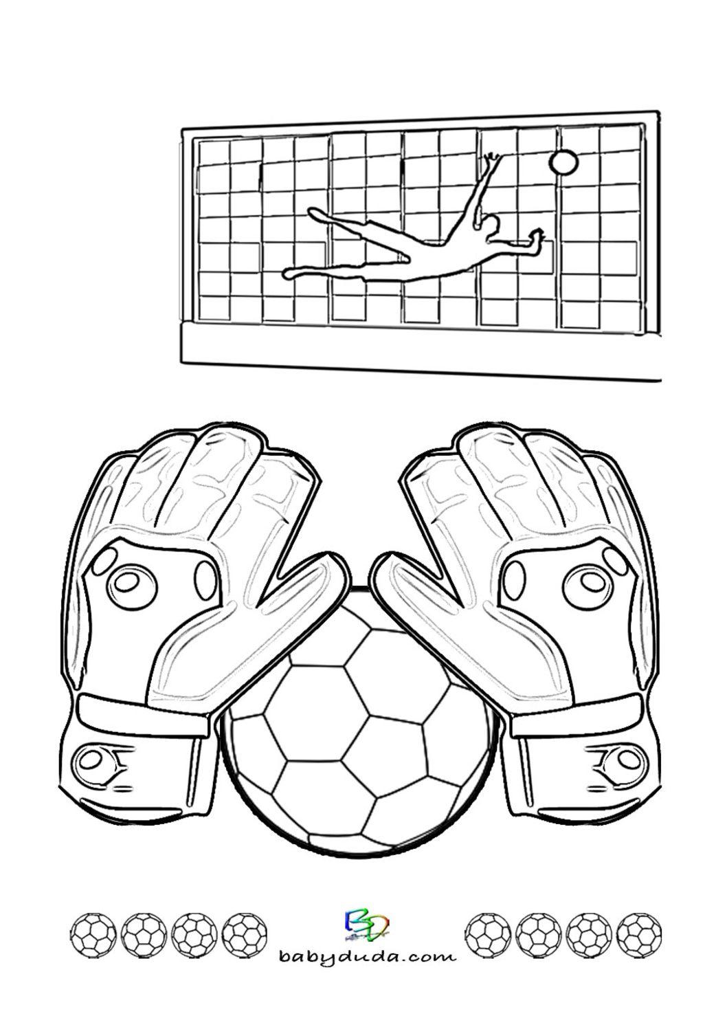 fußball ausmalbilder ⚽ spielfeld, ball & fußballfieber