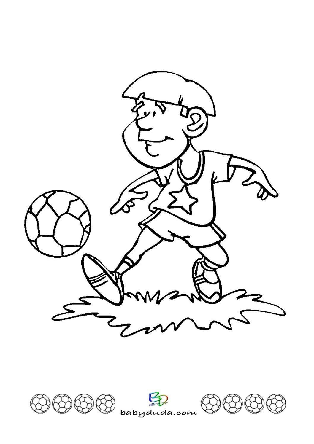 Ausgezeichnet Fußball Malvorlagen Online Bilder - Malvorlagen Von ...