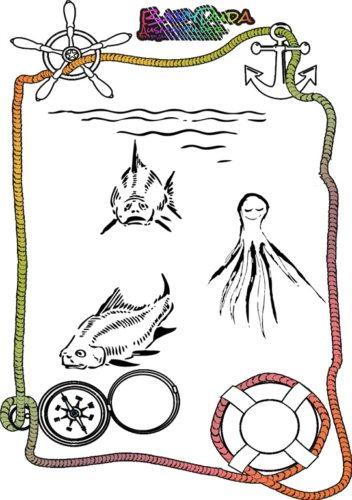 Malvorlagen Meerestiere - Ausmalbild Tiere im Wasser | BabyDuda ...