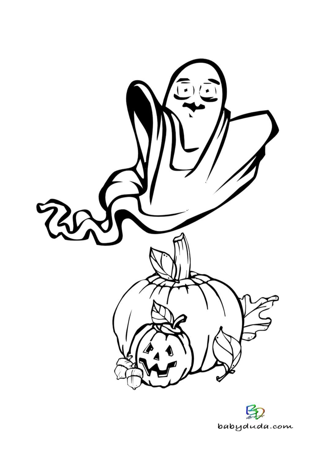 Ausmalbilder Halloween Geist : Die Fabelhaften Ausmalbilder Kostenlos Halloween Kurbis
