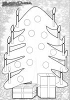 Weihnachten-Ausmalbild-Weihnachts-Malbild-Weihnachtsbaum