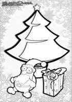 Tolle Weihnachtsbilder.Weihnachtsbilder Zum Ausmalen Malvorlagen Babyduda