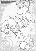 Weihnachten-Ausmalbild-Weihnachts-Malbild-Weihnachtsschmuck