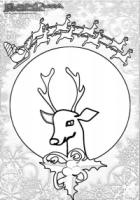 Winter-Ausmalbild-Rudolf-Rentier