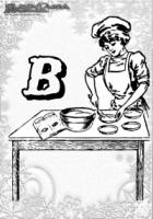 ABC Winter Buchstaben – B – Backen