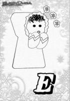 ABC Winter Buchstaben – E – Eskimo