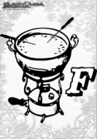ABC Winter Buchstaben – F – Fonduepdf