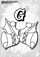 ABC Winter Buchstaben – G – Glocken