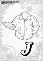 ABC Winter Buchstaben – J – Jacke