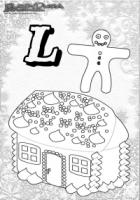 ABC Winter Buchstaben – L – Lebkuchen