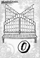 ABC Winter Buchstaben – O – Orgel