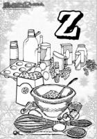 ABC Winter Buchstaben – Z – Zuckerbaeckerei