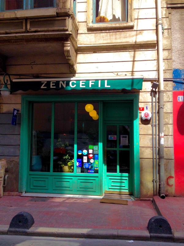 Vegan durch Istambul Zencefil Vejetaryan Vegan Restoran