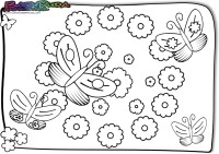 Frühling Ausmalbilder Malvorlagen Für Kinder Babyduda Malbuch