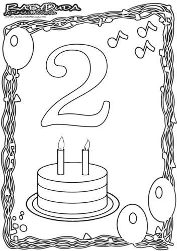 Geburtstag Ausmalbild-2
