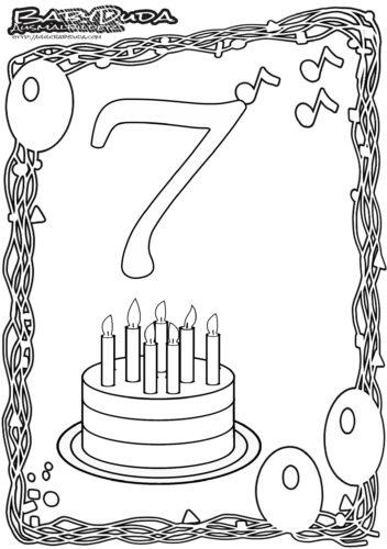Geburtstag Ausmalbild-3