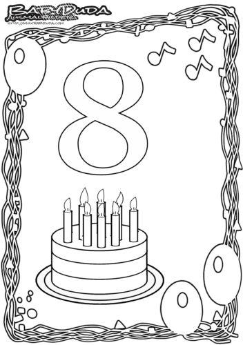 Geburtstag Ausmalbild-8