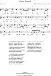 Guter Mond, du gehst so stille - Schlaflied. Aus dem BayDuda Liederbuch mit Kinderliedern, Schlafliedern, Volksliedern: Noten & Liedtext. Zuhören, Mitsingen, Lernen, Spielen. Kinderlieder kostenlos anhören, auswählen, herunterladen & singen!