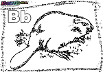 ABC-Buchstabe-B-Biber