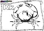ABC-Buchstabe-K-Krabbe