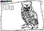 ABC-Buchstabe-U-Uhu