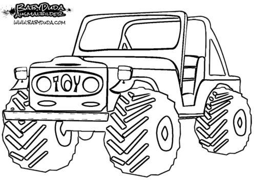 Ausmalbild Toyota