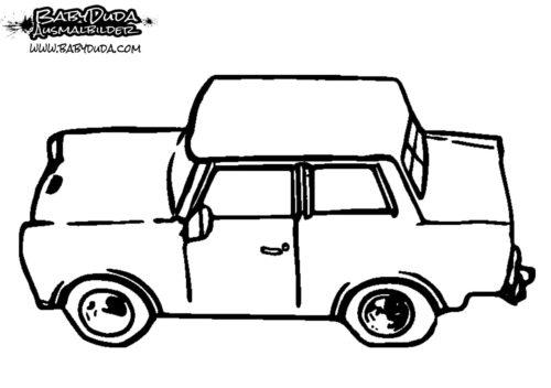 Ausmalbilder Auto Malvorlagen Fur Kinder Babyduda Malbuch