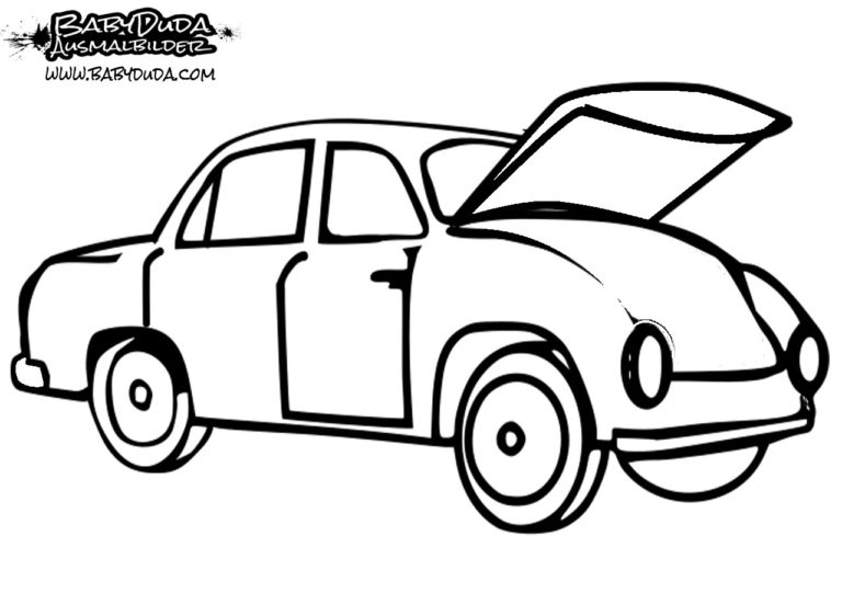 ausmalbilder auto  malvorlagen für kinder  babyduda