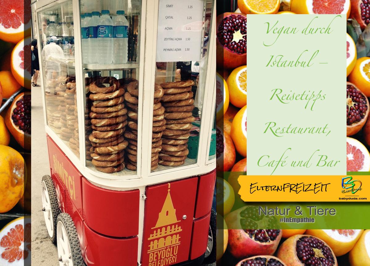 Mit Rucksack durch Istanbul Essen - Simit