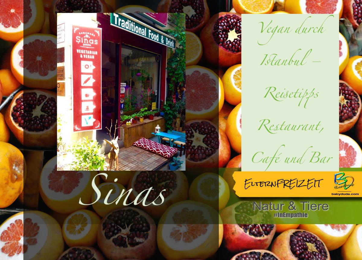 Reisebericht Istanbul Vegetarisch & Vegan - Sinas