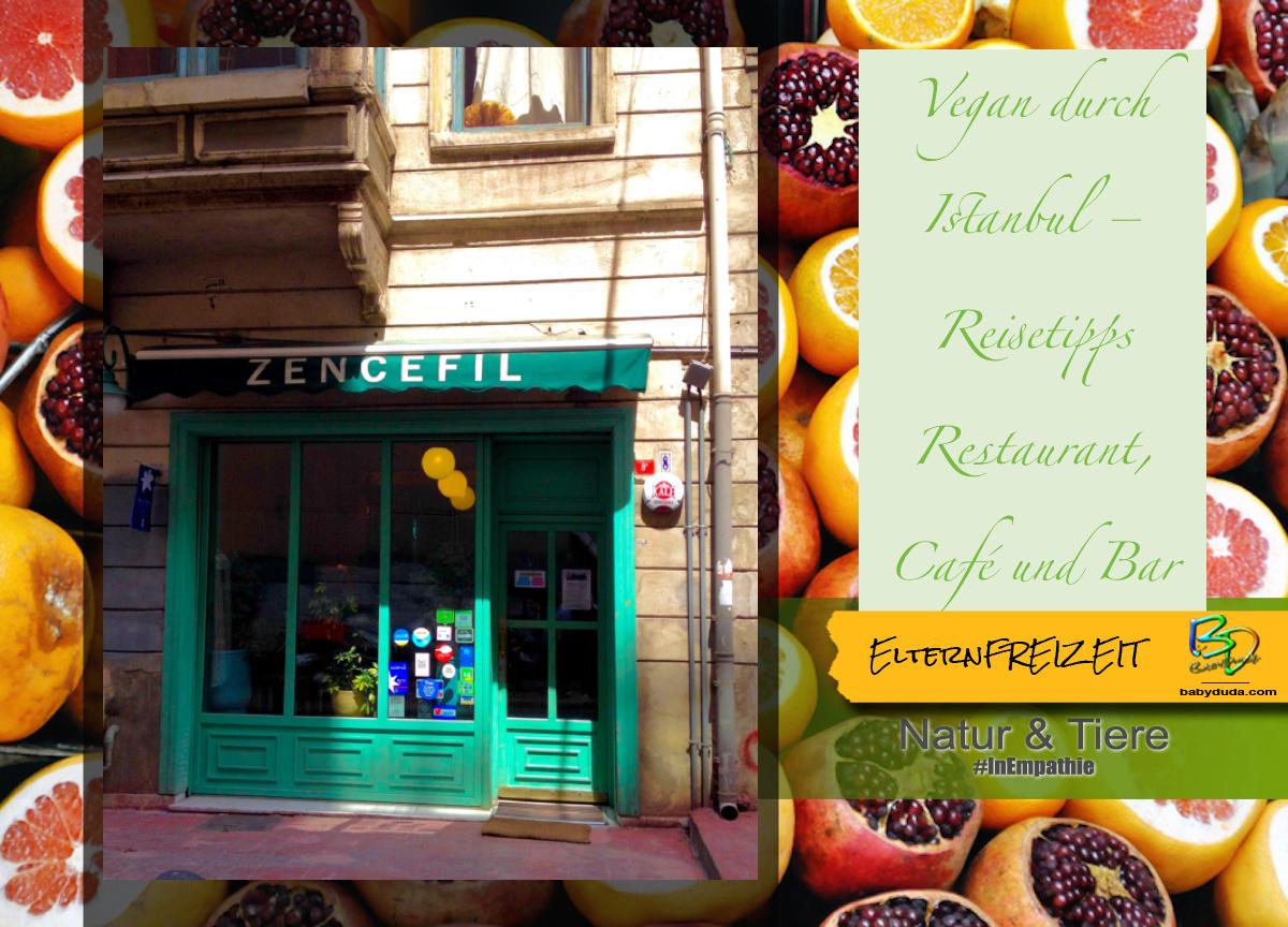 Reisetipp Türkei Istanbul vegan Essen - Zencefil